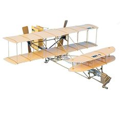 Be Amazing! Toys Sky Blue Flight Giant Wright Flyer Model Kit Brand New! Wright Flyer, Wright Brothers Plane, Electric Rc Planes, Hermanos Wright, Rc Model Airplanes, Toy Craft, Plastic Models, Cool Toys, Outdoor Decor
