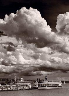 Gathering Storm Over Lake Geneva, Wisconsin
