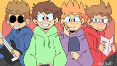 What the fric ( look's around turn in to a neko) time to gooo! Look's at edd gene your my next toy friend Tomtord Comic, Eddsworld Memes, Flash Animation, Eddsworld Comics, Drawing Reference, Drawing Tips, Cute Art, My Arts, Sketches