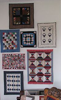 My little quilt gallery.