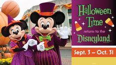 Calling all fans of frightfully fun family experiences… the Halloween season will once again come to life at the Disneyland Resort! From Sept. 3 – Oct. 31, 2021, you will delight in the spooky fun of Halloween Time, at both Disneyland park and Disneyland Resort, Halloween Season, Halloween Themes, Halloween Fun, Disney Parks Blog, Disney World Trip, Disney Vacations, Great Vacations, Oogie Boogie