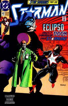 "Starman (1988) - #42 ""Star Shadows, Part One: Sun Spots!"""
