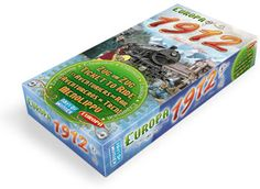 Ticket to Ride | Days of Wonder Europa 1912 Expansion Pack