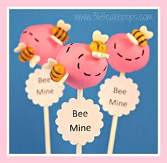 Every Day Should Pop!: Bee Mine Cake Pops