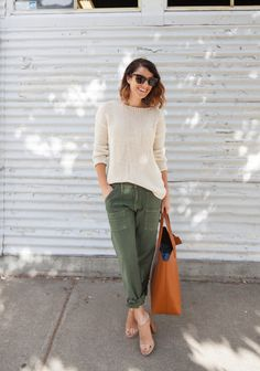 Relaxed Cargo - looks so comfortable; I could wear this everyday!