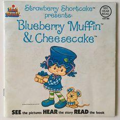 Blueberry Muffin & Cheesecake 7' Vinyl Record / Book Kid