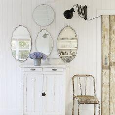 specchi#sedia#parete