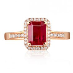 ruby emerald square cut rings - Yahoo Image Search Results