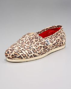 Leopard print + Toms = these.