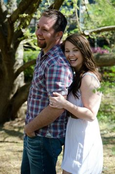 adorable engagement picture session