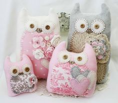 Cute owls by Teva, via Lilybean's Paperie.