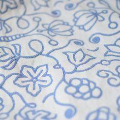Sestrice Folk Cobalt babywrap