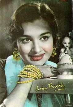 Bollywood actress Asha Parekh