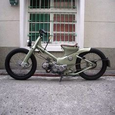 Honda Cub custom by AFS customs