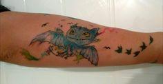 Dragon en watercolor