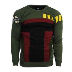 Official Boba Fett Star Wars Jumper / Sweater