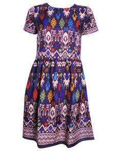 Fairly Made Timor Ikat Dress at fashion-consciense