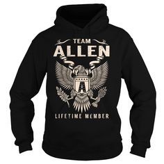 Team ALLEN Lifetime Member - Last Name, Surname T-Shirt