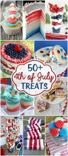 50 plus 4the July Treats