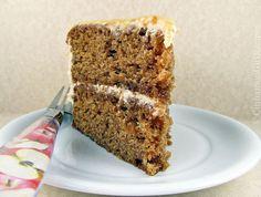 Caramel Apple Layer Cake w/ Cinnamon Cream Cheese Frosting
