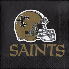 NFL 2 Ply Lunch Napkins New Orleans Saints/Case of 192 Tags: New Orleans Saints; Lunch Napkins; NFL Tableware; New Orleans Saints party;New Orleans Saints party tableware;New Orleans Saints Lunch Napkins; https://www.ktsupply.com/products/32786326217/NFL-2-Ply-Lunch-Napkins-New-Orleans-SaintsCase-of-192.html
