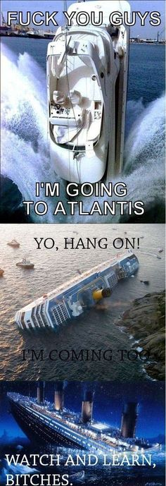 boats go down the hole....