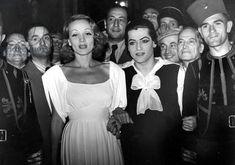 Marlene Dietrich et Serge Lifar