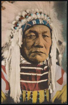 CHIEF BIRD RATTLER. Blackfeet Tribe, Montanta | Museum of Fine Arts, Boston