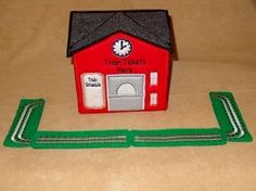 Train Depot - 4 Sizes! | What's New | Machine Embroidery Designs | SWAKembroidery.com Band to Bow