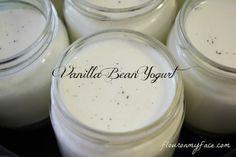 How to make Yogurt: Homemade Vanilla Bean Yogurt Recipe