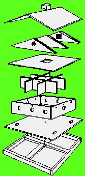 Print This Purple Martin House Design from the U S Fish & Wildlife Service