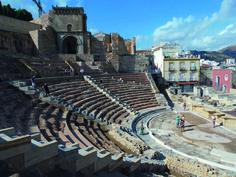 AD03: Romeinse opgravingen in Cartagena. Een heerlijke stadje om door heen te dwalen!