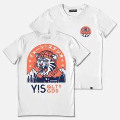T-shirt Illustration Design Inspiration Ideas For 2019 T Shirt Designs, Shirt Print Design, Tee Design, Design Kaos, Graphic Shirts, Printed Shirts, Streetwear, Screen Printing Shirts, Clothing Logo