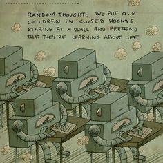Las estimulantes ilustraciones de Alex Noriega demuestran que, a veces,  las cosas más importantes son aquellas que nunca se dicen.