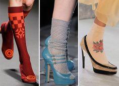 Socks & Heels anyone?