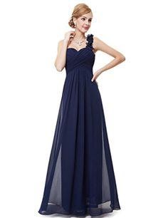 75de84ef5bb9a Ever Pretty Womens Floor Length Sweetheart Neckline Formal Bridesmaids  Dress 12 US Navy Blue - Brought