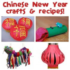 Chinese New Year crafts and recipes