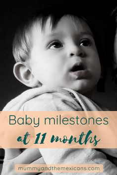 The baby milestones and firsts of our 11 month old. Seven Month Old Baby, One Month Baby, 11 Month Old Milestones, Baby Milestone Chart, Milestone App, Milestone Pictures, Infant Activities, Learning Activities, Parenting