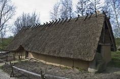 Replica farm Funnelbeaker culture/Boerderij Trechterbeker cultuur.