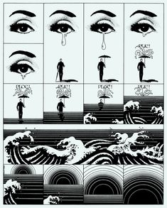 Drawing by Philippe Caza
