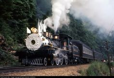 RailPictures.Net Photo: CRR 1 Clinchfield Railroad Steam 4-6-0 at Lost Cove, North Carolina by Kyle Korienek Collection