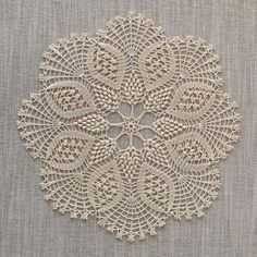 "diy_crafts- "" This delicate handmade fine cotton crochet doily will…"", ""Baby braids newest knitting patterns – Part ""This post was dis Crochet Dollies, Crochet Doily Patterns, Crochet Mandala, Crochet Art, Cotton Crochet, Crochet Home, Thread Crochet, Filet Crochet, Crochet Motif"