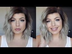 How I Style My Short Hair | Messy Beach Waves Hair Tutorial - YouTube