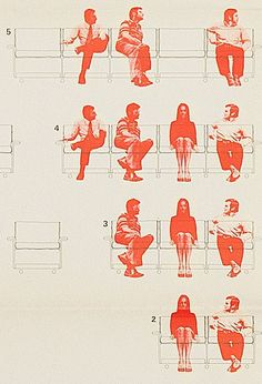 Vitsoe Furniture design archive, 1972: 620 Chair Programme poster by Wolfgang Schmidt.