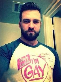 Men in a T-Shirt: Sorry Ladies I'm Gay