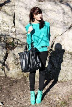 #fashion #style #aquamarine #mint