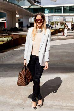 Todas las imágenes de street style en Mercedes Benz Fashion Week Madrid: Alison Liandat