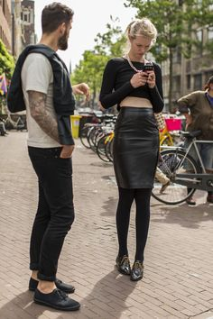 The Style On The Streets Of Amsterdam.
