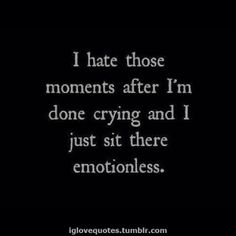 I hate those moments