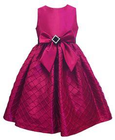 Jayne Coepland Kids Dress, Girls Taffeta Bow Dress - Kids Dresses - Macy's for Melita